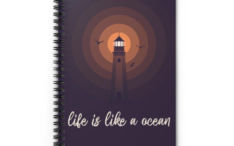 Spiral Notebook – Ruled Line