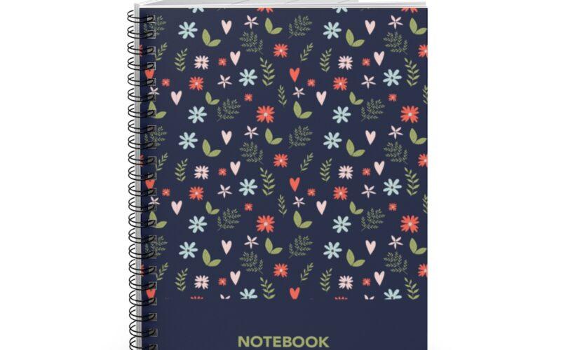 Floral design Notebook