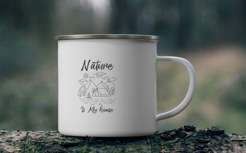 Nature Camping Mug